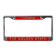 California License Plate Frame