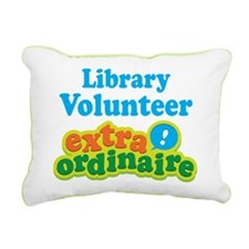 Library Volunteer Extraordinaire Rectangular Canva
