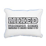 Mixed Martial Arts Rectangular Canvas Pillow