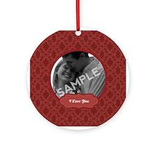 Personalized Valentine's Day Ornament