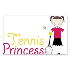 Tennis Princess Decal
