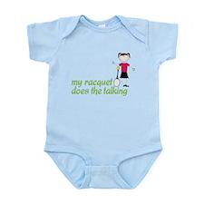 My Racquet Infant Bodysuit