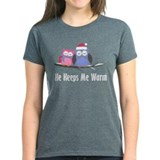 He Keeps Me Warm Owls Tee