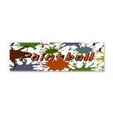 Fun Paintball Splatter Car Magnet 10 x 3