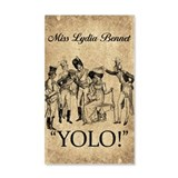 Lydia Bennet YOLO Wall Decal