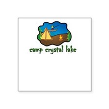 camp crystal lake truck stop vacation tee Square S