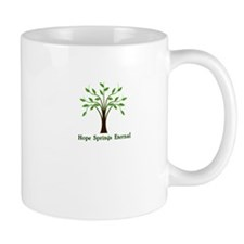 Hope springs eternal in the human breast tree Mug