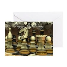 Chess Birthday Greeting Card