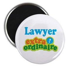 Lawyer Extraordinaire Magnet