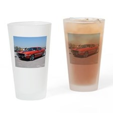 70 Shelby GT Drinking Glass