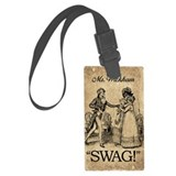 Mr Wickham Swag Luggage Tag