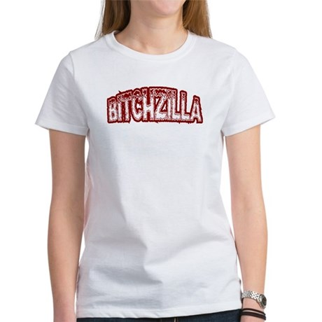 Funny Bitchzilla Women's T-Shirt