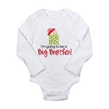 christmas present back brother Body Suit Body Suit