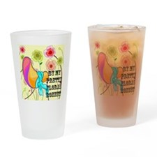 floral bonnet.png Drinking Glass
