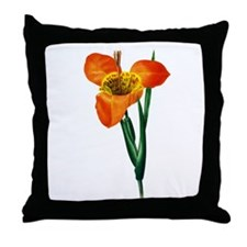 Pierre-Joseph Redoute Botanical Throw Pillow