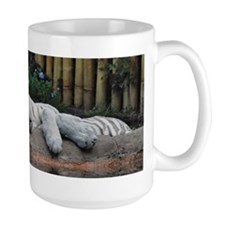 Sleeping White Tigers Mug