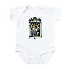 USS WILLIAM R. RUSH Infant Bodysuit