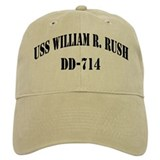 USS WILLIAM R. RUSH Hat