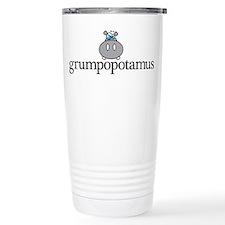 Grumpy Hippo Travel Mug