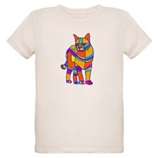Stripped Cat T-Shirt