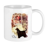 Afghan Hounds from Afghanistan Small Mug
