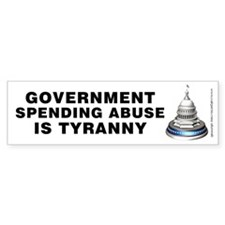 Spending Abuse Tyranny, Bumper Sticker