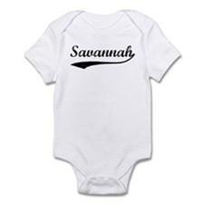 Vintage: Savannah Infant Bodysuit