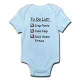 Baby Checklist Infant Bodysuit