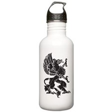 Griffin (Grunge Texture) Water Bottle