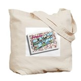 Greetings from Bradley Beach Tote Bag
