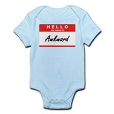 Hello, my name is Awkward Infant Bodysuit
