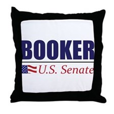 Cory Booker for U.S. Senate Throw Pillow