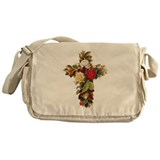 Rosy Cross Messenger Bag