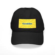 Geraldine Sunburst Baseball Hat