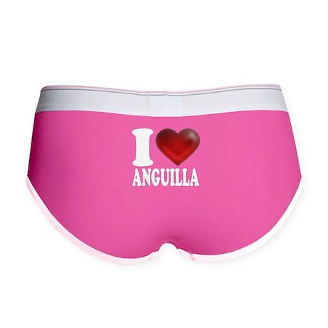 I Heart Anguilla Women's Boy Brief