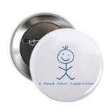 "Cute Scribbl 2.25"" Button (10 pack)"