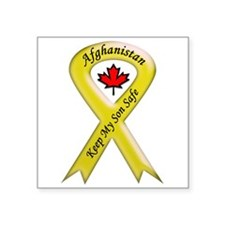Afghanistan Keep My Son Safe Oval Sticker