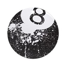 8 Ball Ornament (Round)