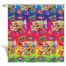 Hippy Trippy Shower Curtain