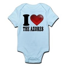 IHeartTheAzores.png Infant Bodysuit