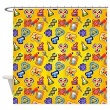 Mad Scientist Shower Curtain