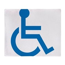 Handicapped Throw Blanket