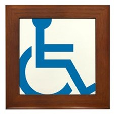 Handicapped Framed Tile