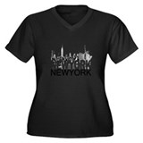 New York Skyline Plus Size T-Shirt