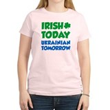Irish Today Ukrainian Tomorrow T-Shirt