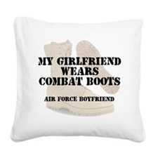 AF BF DCB Square Canvas Pillow