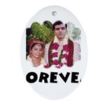FOREVER Oval Ornament