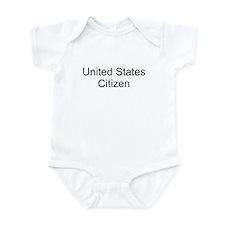 United States Citizen Infant Bodysuit