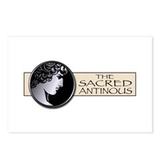 Antinous Medallion Postcards (Package of 8)