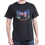 9-11 Never Forget Dark Tee